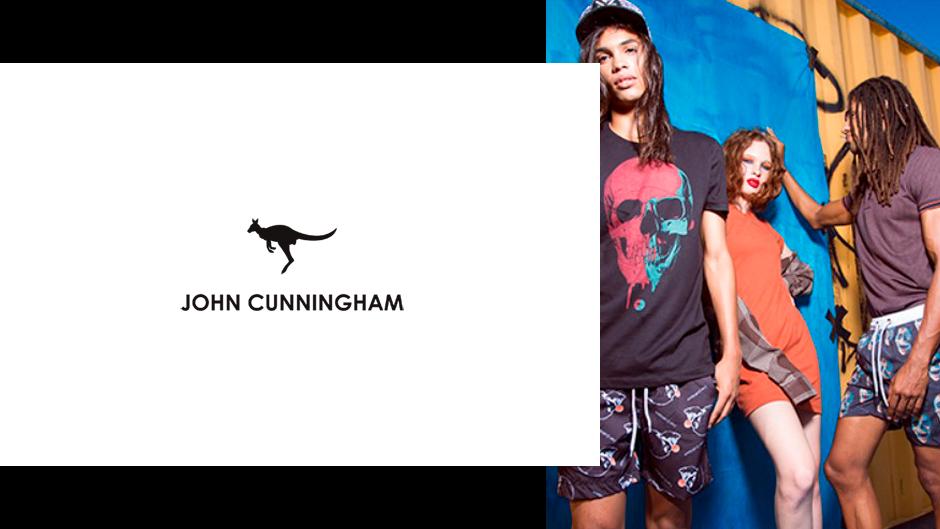 John Cunningham moda masculina e feminina atacado