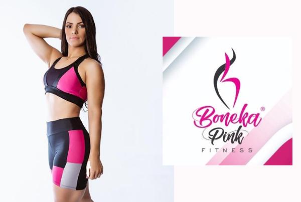 Boneka Pink Fitness