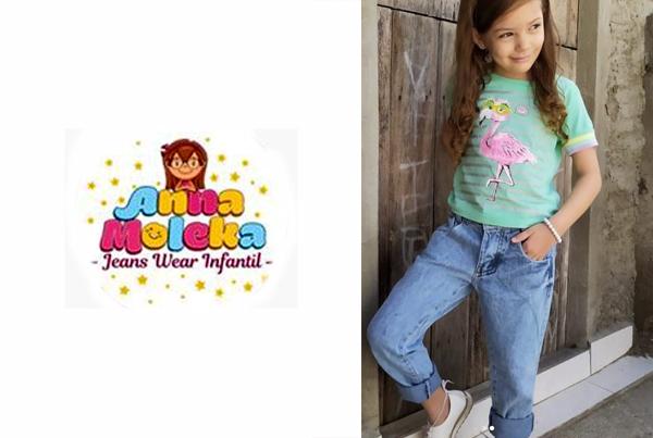 Anna Moleka Jeans Wear Infantil