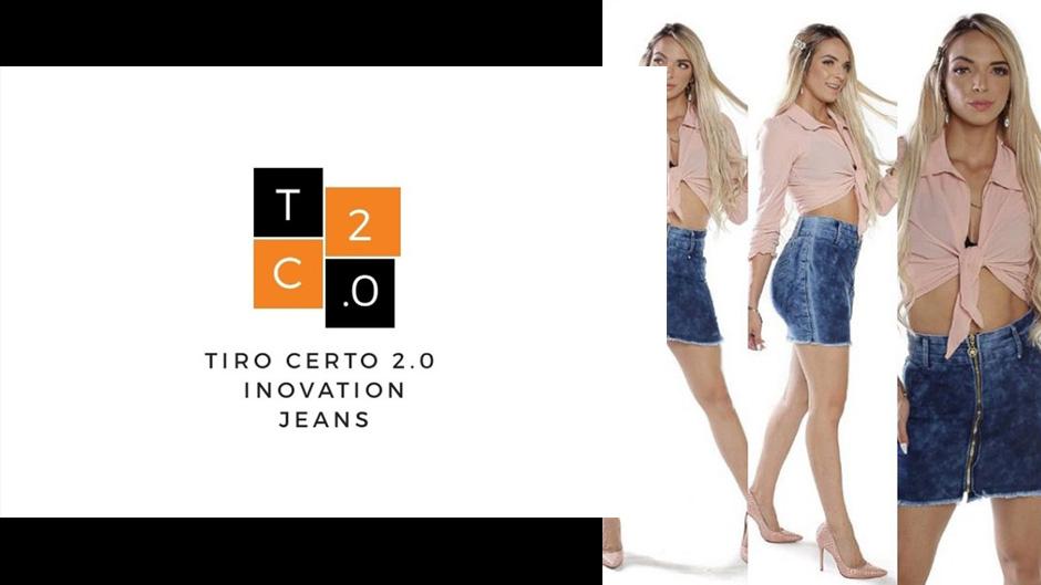 tiro certo 2.0 inovation jeans moda evangélica feminina atacado